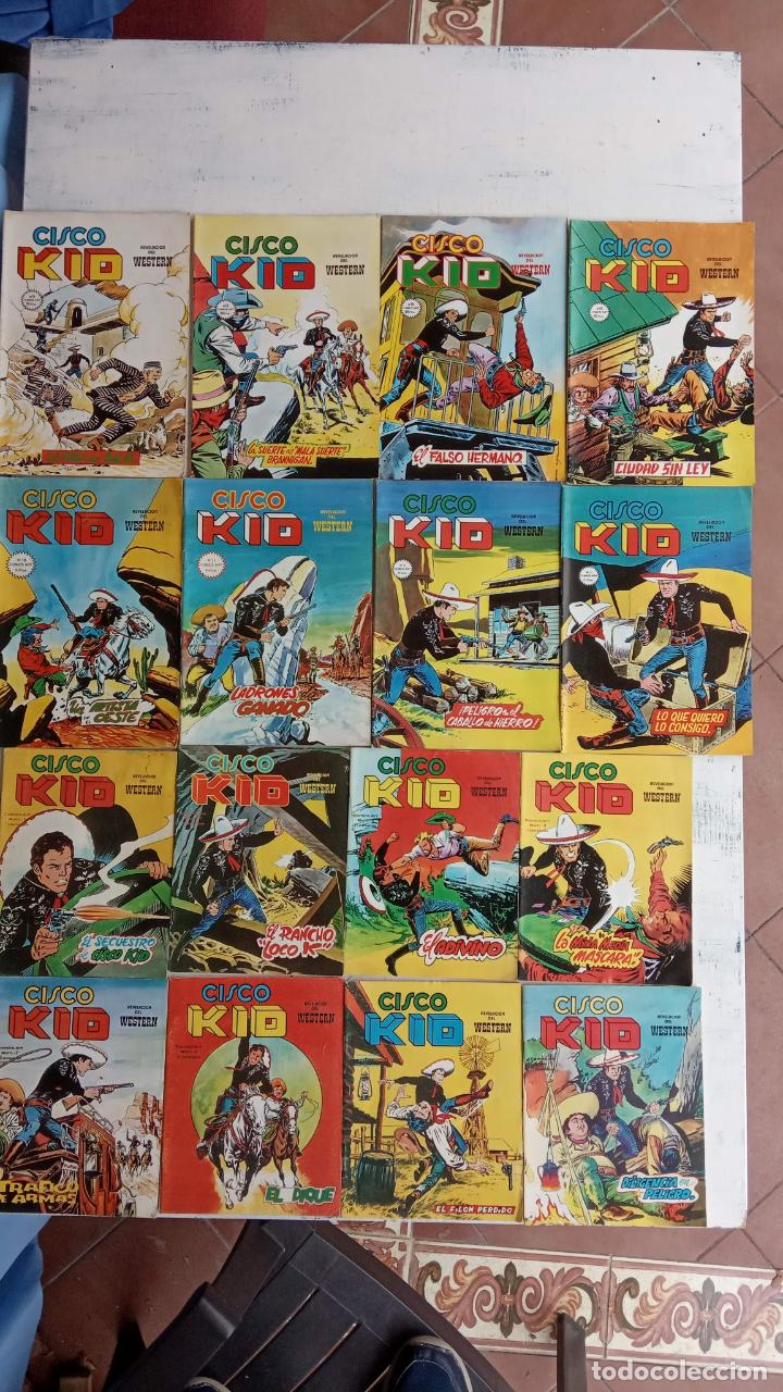 Cómics: CISCO KID VÉRTICE 1979 - 1 A 3, 5 A 16 Y 19 - Foto 5 - 198488026