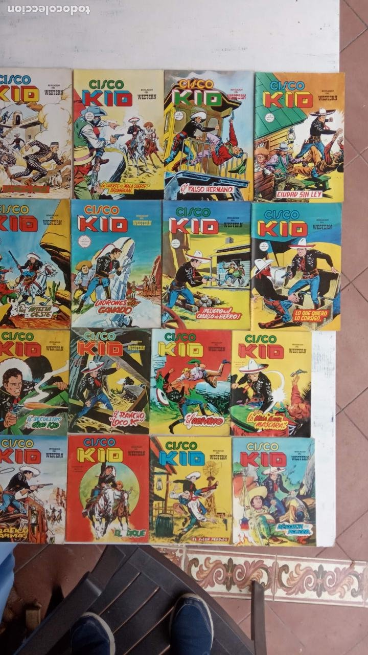 Cómics: CISCO KID VÉRTICE 1979 - 1 A 3, 5 A 16 Y 19 - Foto 1 - 198488026