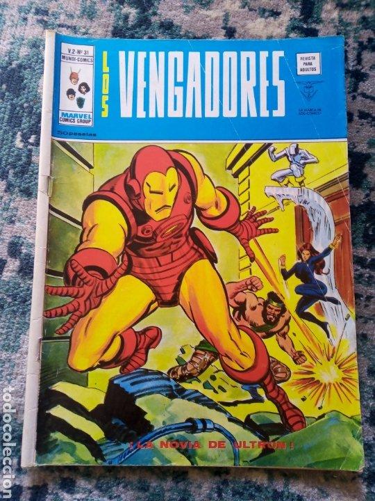 LOS VENGADORES VOL 2 NÚM 31 (Tebeos y Comics - Vértice - Vengadores)