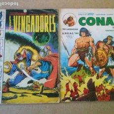 Cómics: ANUAL 80 , COL. DE 2 NºS . COMPLETA VERTICE -LOS VENGADORES Y CONAN ,. Lote 198605182