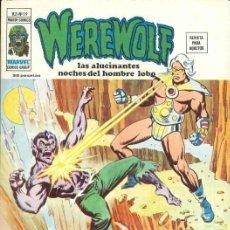 Cómics: WEREWOLF VOL.2 Nº 19 - VÉRTICE. EL HOMBRE LOBO.. Lote 273606078