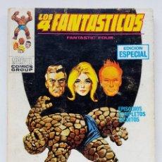 Comics : LOS CUATRO FANTASTICOS VERTICE VOL. 1 Nº 21 - MATARTE PARA SALVARTE - TACO VERTICE V-1 - 128 PAGINA. Lote 198744925