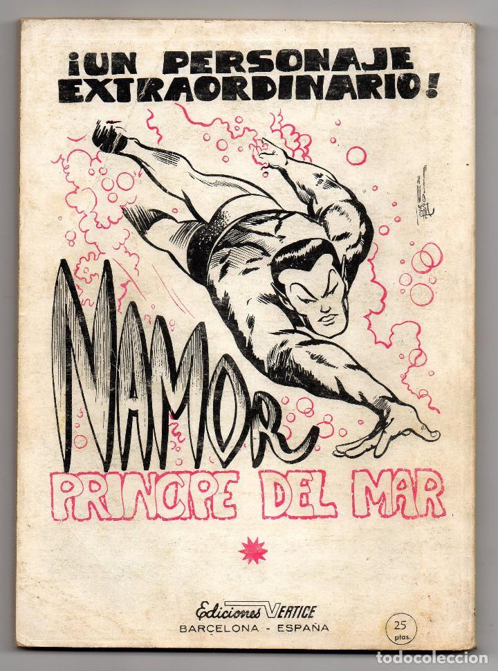 Cómics: ZARPA DE ACERO nº 30 (Vertice 1969) Ultimo de la coleccion. - Foto 5 - 98957859