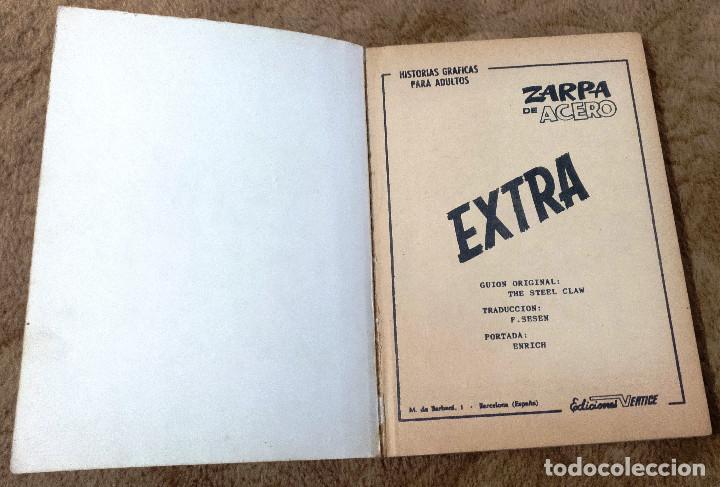 Cómics: ZARPA DE ACERO nº 10 (Vertice 1ª edicion 1966) - Foto 2 - 105252572