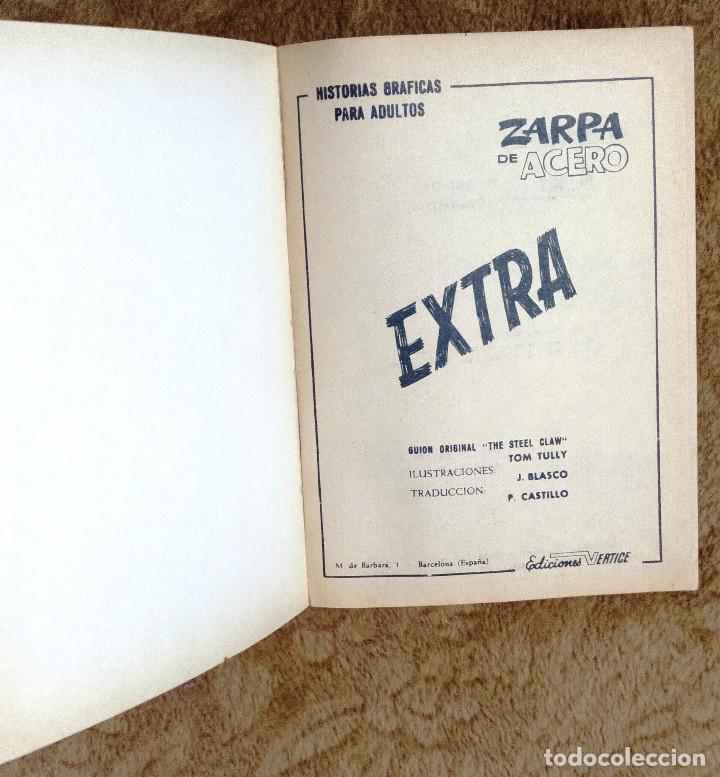 Cómics: ZARPA DE ACERO nº 5 (Vertice 1ª edicion 1966) - Foto 2 - 98962455