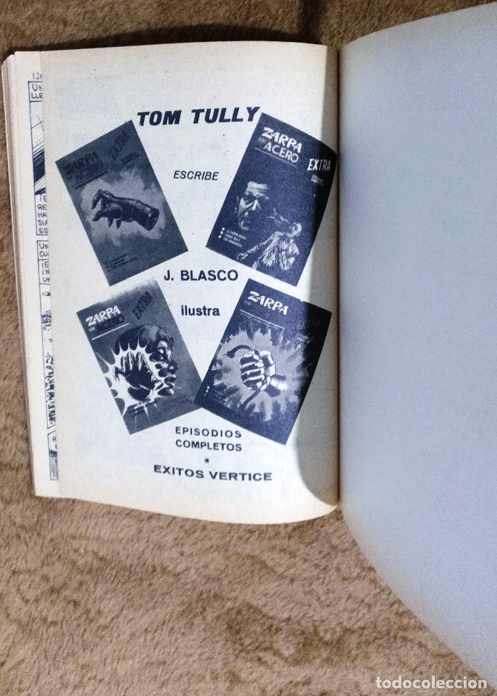 Cómics: ZARPA DE ACERO nº 5 (Vertice 1ª edicion 1966) - Foto 4 - 98962455