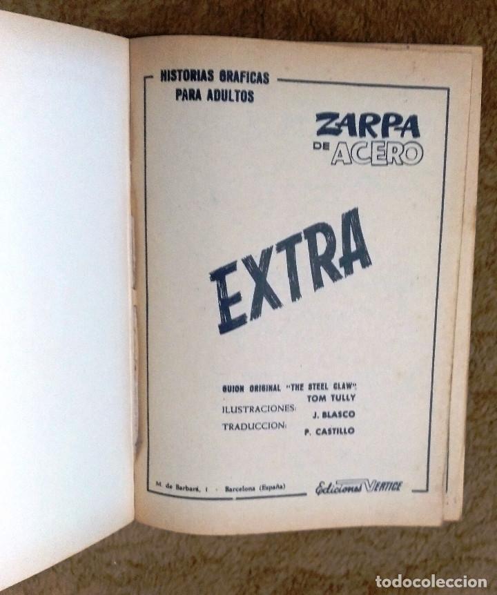 Cómics: ZARPA DE ACERO nº 4 (Vertice 1ª edicion 1966) - Foto 2 - 98962539