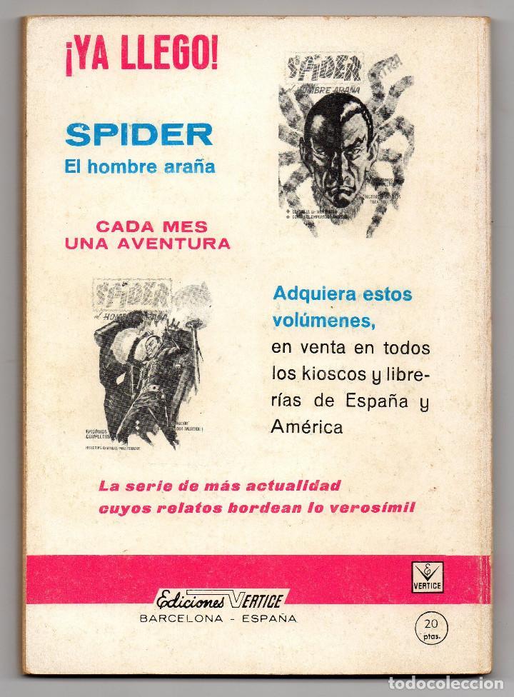Cómics: ZARPA DE ACERO nº 4 (Vertice 1ª edicion 1966) - Foto 5 - 98962539
