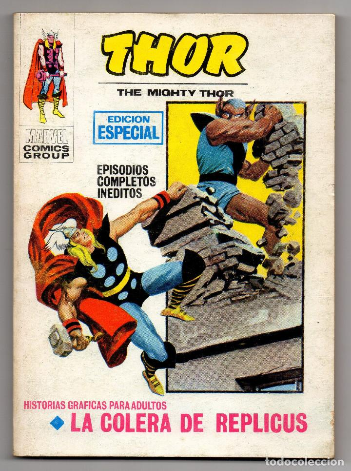 THOR Nº 7 (VERTICE 1971) (Tebeos y Comics - Vértice - Thor)