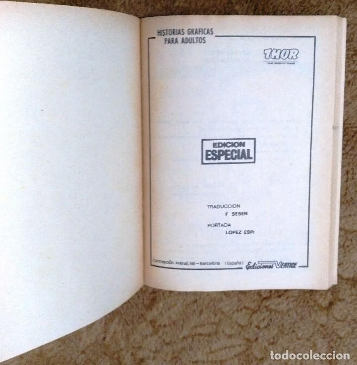 Cómics: THOR nº 7 (Vertice 1971) - Foto 2 - 46030705