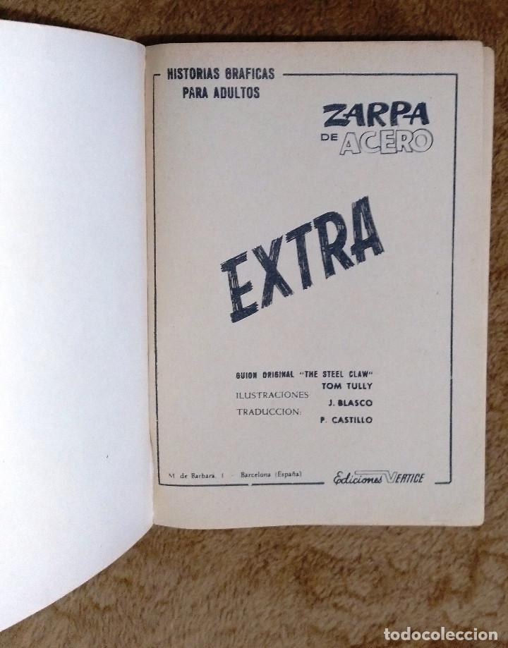 Cómics: ZARPA DE ACERO nº 3 (Vertice 1ª edicion 1966) 160 páginas. - Foto 2 - 50019140
