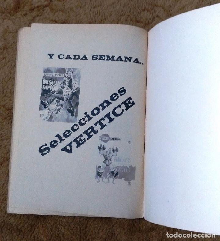 Cómics: ZARPA DE ACERO nº 3 (Vertice 1ª edicion 1966) 160 páginas. - Foto 4 - 50019140