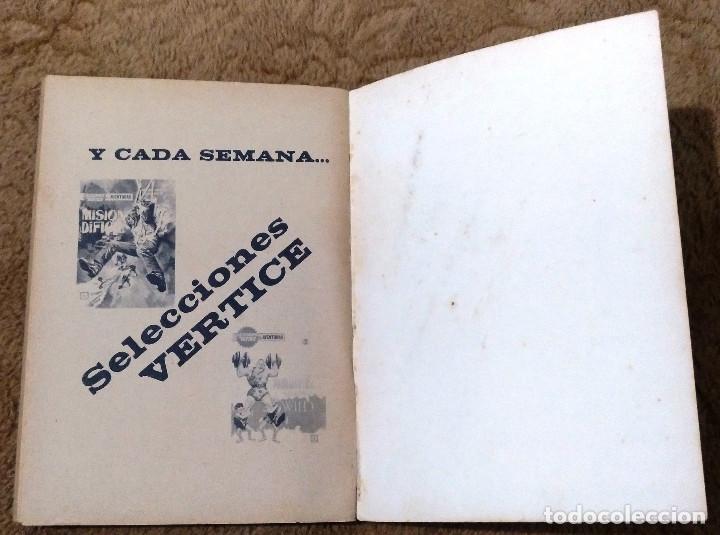 Cómics: ZARPA DE ACERO nº 3 (Vertice 1ª edicion 1.966) 160 paginas. - Foto 4 - 98962863