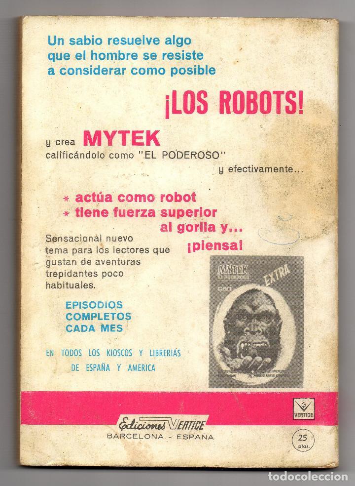 Cómics: ZARPA DE ACERO nº 3 (Vertice 1ª edicion 1.966) 160 paginas. - Foto 5 - 98962863