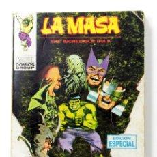 Cómics: LA MASA VERTICE VOL. 1 Nº 18 - EL MUNDO CONTRA LA MASA - VERTICE V-1 - 128 PAGINAS - COMIC TACO. Lote 198810890