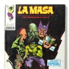 Cómics: LA MASA VERTICE VOL. 1 Nº 18 - EL MUNDO CONTRA LA MASA - VERTICE V-1 - 128 PAGINAS - COMIC HULK. Lote 198810998