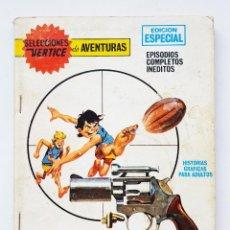 Cómics: SELECCIONES VÉRTICE DE AVENTURAS Nº 79 - ASESINOS EN EL ESTADIO - COMIC TACO VERTICE. Lote 198849976