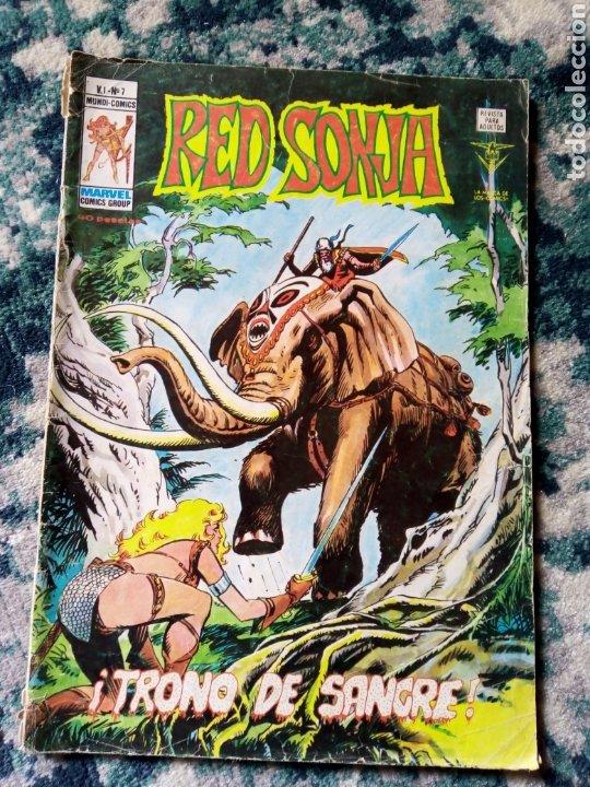 RED SONJA VOL 1 NÚM 7. VÉRTICE (Tebeos y Comics - Vértice - Otros)