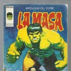 Cómics: ANTOLOGIA DEL COMIC 16: LA MASA, 1979, VERTICE, BUEN ESTADO. Lote 198942950