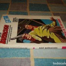 Comics : AQUÍ BARRACUDA 16, 1969, VERTICE, BUEN ESTADO. Lote 199089710