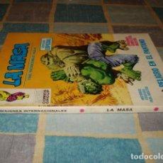 Cómics: LA MASA 9, 1971, VERTICE, BUEN ESTADO. Lote 199091586