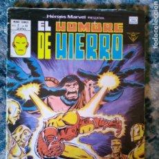 Cómics: HÉROES MARVEL VOL 2 NÚM 61. EL HOMBRE DE HIERRO. VÉRTICE. Lote 199096538