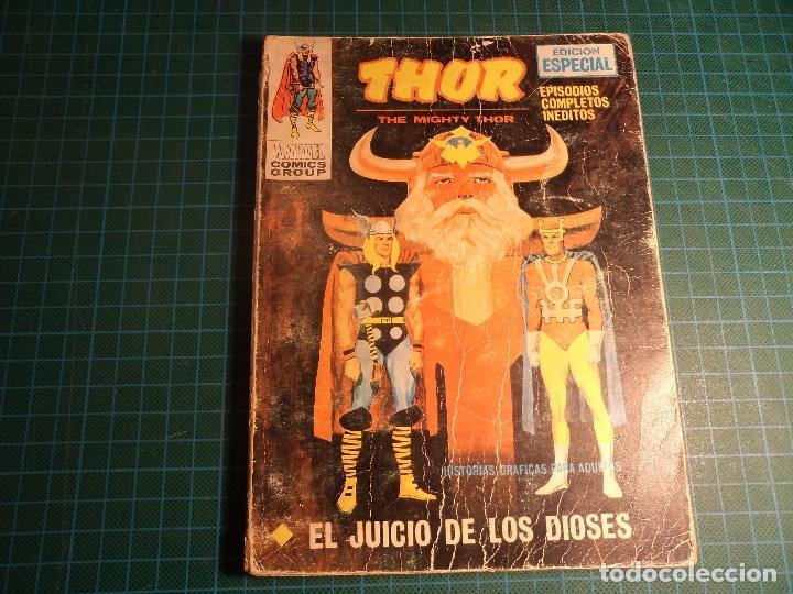 THOR. Nº 16. COMPLETO PERO CASTIGADO. FALTA LA HOJA DE PRESENTACION. (T-3) (Tebeos y Comics - Vértice - V.1)