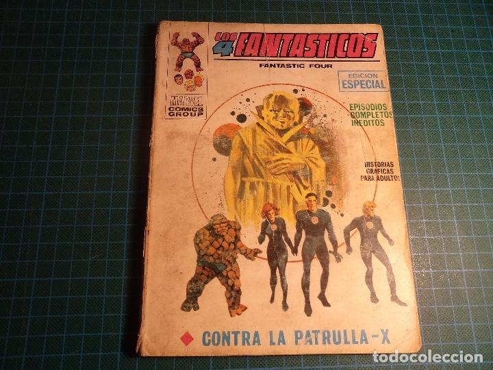 LOS 4 FANTASTICOS. Nº 14. COMPLETO PERO CASTIGADO. FALTA LA HOJA DE PRESENTACION. (T-3) (Tebeos y Comics - Vértice - V.1)