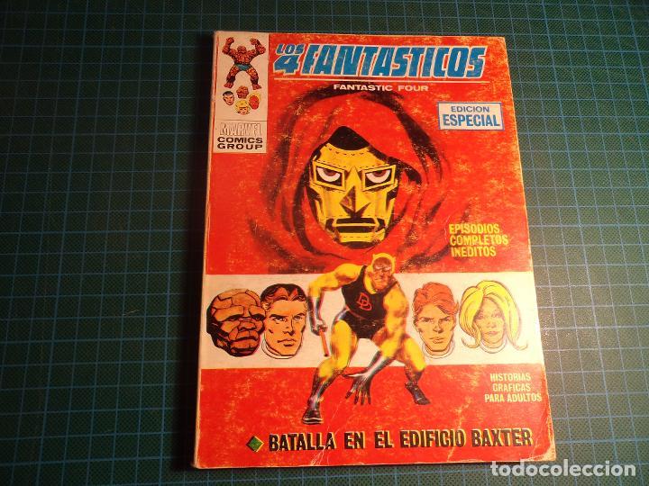 LOS 4 FANTASTICOS. Nº 20. COMPLETO PERO CASTIGADO. FALTA LA HOJA DE PRESENTACION. (T-3) (Tebeos y Comics - Vértice - V.1)