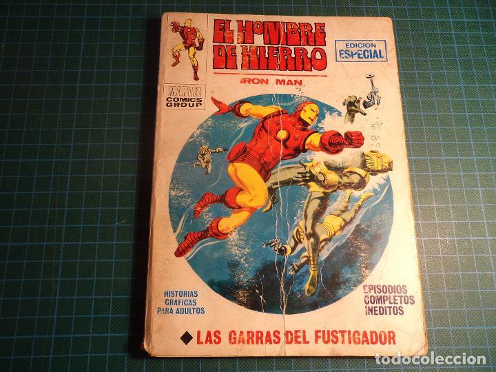 EL HOMBRE DE HIERRO. Nº 19. COMPLETO PERO CASTIGADO. FALTA LA HOJA DE PRESENTACION. (T-3) (Tebeos y Comics - Vértice - V.1)