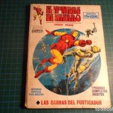 Cómics: EL HOMBRE DE HIERRO. Nº 19. COMPLETO PERO CASTIGADO. FALTA LA HOJA DE PRESENTACION. (T-3). Lote 199125030