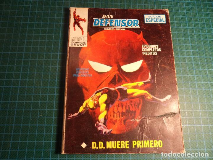 DAN DENFENSOR. Nº 14. COMPLETO PERO CASTIGADO. FALTA LA HOJA DE PRESENTACION. (T-3) (Tebeos y Comics - Vértice - V.1)
