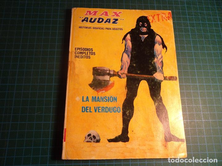 MAX AUDAZ. Nº 13. COMPLETO PERO CASTIGADO. FALTA LA HOJA DE PRESENTACION. (T-3) (Tebeos y Comics - Vértice - V.1)