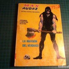 Cómics: MAX AUDAZ. Nº 13. COMPLETO PERO CASTIGADO. FALTA LA HOJA DE PRESENTACION. (T-3). Lote 199125215