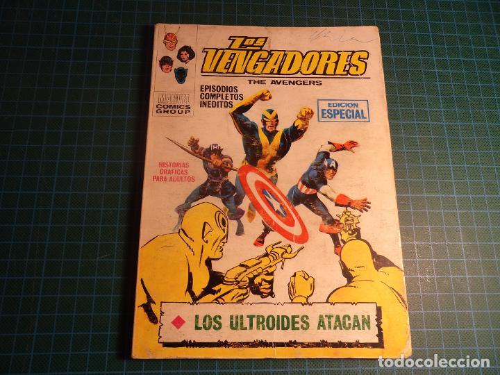 LOS VENGADORES. Nº 16. COMPLETO PERO CASTIGADO. FALTA LA HOJA DE PRESENTACION. (T-3) (Tebeos y Comics - Vértice - V.1)