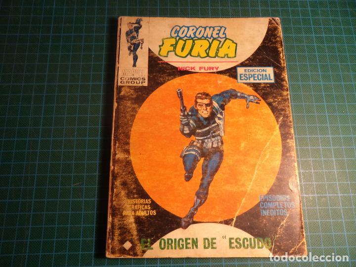 CORONEL FURIA. Nº 2. COMPLETO PERO CASTIGADO. FALTA LA HOJA DE PRESENTACION. (T-3) (Tebeos y Comics - Vértice - V.1)