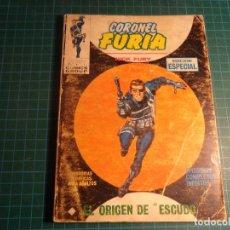 Cómics: CORONEL FURIA. Nº 2. COMPLETO PERO CASTIGADO. FALTA LA HOJA DE PRESENTACION. (T-3). Lote 199125375