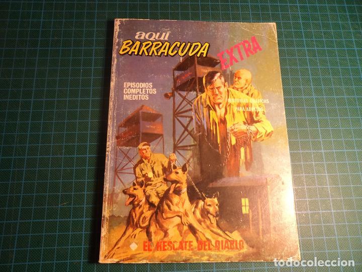 AQUI BARRACUDA. Nº 5. COMPLETO PERO CASTIGADO. FALTA LA HOJA DE PRESENTACION. (T-3) (Tebeos y Comics - Vértice - V.1)