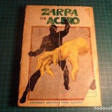Cómics: ZARPA DE ACERO.GIGANTE. Nº 5. COMPLETO PERO CASTIGADO. FALTA LA HOJA DE PRESENTACION. (T-3). Lote 199125555