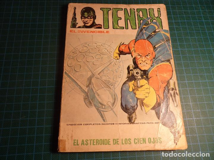 TENAX. Nº 10. COMPLETO PERO CASTIGADO. (T-1) (Tebeos y Comics - Vértice - V.1)