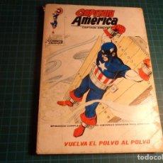 Cómics: CAPITAN AMERICA. Nº 34. COMPLETO PERO CASTIGADO. (T-3). Lote 199199826
