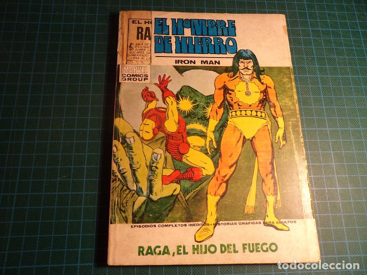 EL HOMBRE DE HIERRO. Nº 27. COMPLETO PERO CASTIGADO. (T-3) (Tebeos y Comics - Vértice - V.1)