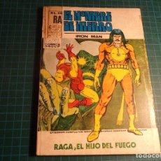 Cómics: EL HOMBRE DE HIERRO. Nº 27. COMPLETO PERO CASTIGADO. (T-3). Lote 199200901