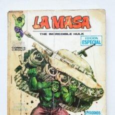 Comics : VERTICE VOL.1 LA MASA - Nº 1 - LA INCREIBLE MASA - COMIC TACO VERTICE - EDICION ESPECIAL - 128 PAG. Lote 199219965