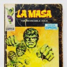 Comics : VERTICE VOL.1 LA MASA - Nº 3 - LA MASA NO SE RINDE - COMIC TACO VERTICE - EDICION ESPECIAL - 128 PAG. Lote 199220335