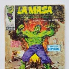 Comics : VERTICE VOL.1 LA MASA - Nº 20 - FUEGO CONTRA LA MASA - EDICION ESPECIAL - 126 PAGINAS. Lote 199223117