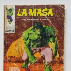 Comics : VERTICE VOL.1 LA MASA - Nº 23 - MAÑANA MORIRA EL SOL - EDICION ESPECIAL - 128 PAGINAS - TACO MARVEL. Lote 199223320