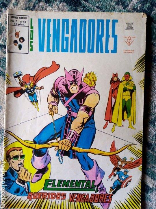 LOS VENGADORES VOL 2 NÚM 43. VÉRTICE (Tebeos y Comics - Vértice - Vengadores)