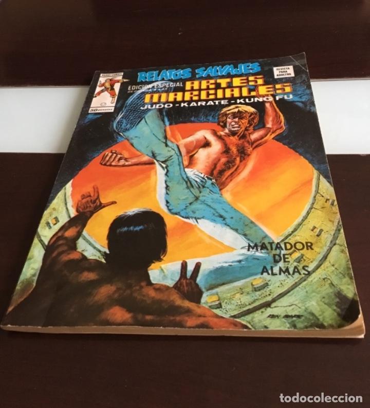 RELATOS SALVAJES KUNG FU ARTES MARCIALES VOL. 1 Nº 17 - VERTICE 1975 (Tebeos y Comics - Vértice - Relatos Salvajes)