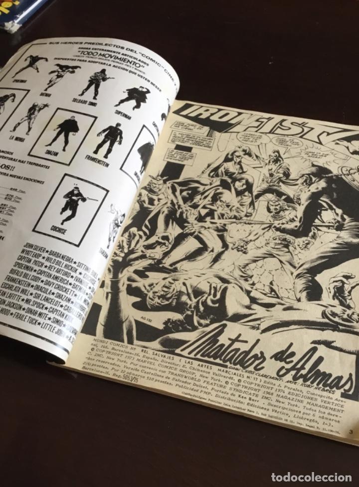 Cómics: RELATOS SALVAJES KUNG FU ARTES MARCIALES VOL. 1 Nº 17 - VERTICE 1975 - Foto 2 - 199268297